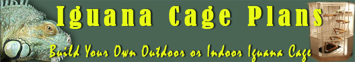 How to build an indoor Iguana cage